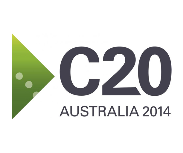 How does Australian civil society make its voice heard on the international stage?